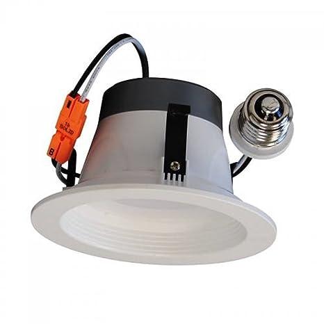 4 inch led recessed lighting kit sunco lighting 8watt 4quot inch energy star etllisted dimmable led downlight retrofit baffle recessed 4