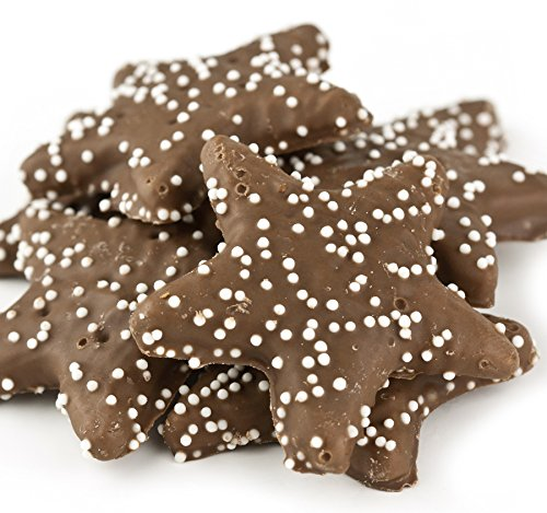 Christmas Chocolate Graham Stars Cookies, 2 Lb. Holiday Gift Box (Cookie Gifts For Christmas)