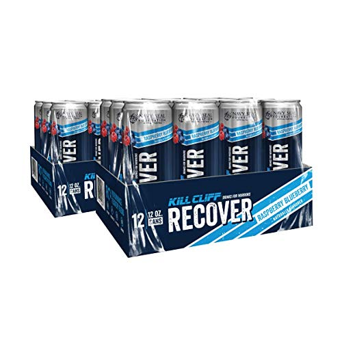 Kill Cliff Recovery Drink, Raspberry Blueberry, 12 Oz Cans, 24 Count (Recovery Peak)