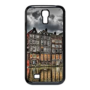 Nuktoe City Samsung Galaxy S4 Case City Hdr 3 for Women Protective, Cell Phone Case for Samsung Galaxy S4, {Black}