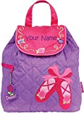 Personalized Stephen Joseph Ballet Quilted Backpack with Embroidered Name