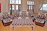 Ab Home Decor Sofa cover Set of 16 Pcs Combo with Arm Cover, Cushion Cover, Table Cover