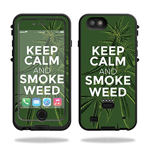 Skin For LifeProof FRE Power iPhone 6 Plus Case – Smoke Weed | MightySkins Protective, Durable, and Unique Vinyl Decal wrap cover | Easy To Apply, Remove, and Change Styles | Made in the USA