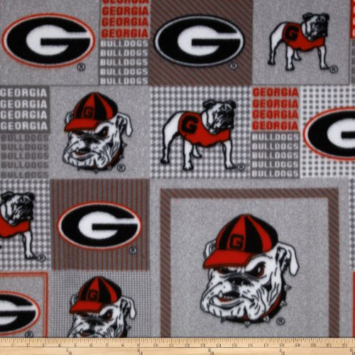 Georgia Bulldogs Fleece Throw - 2