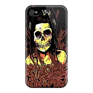 GAwilliam Slim Fit Tpu Protector YeZ707rXRW Shock Absorbent Bumper Case For Iphone 4/4s