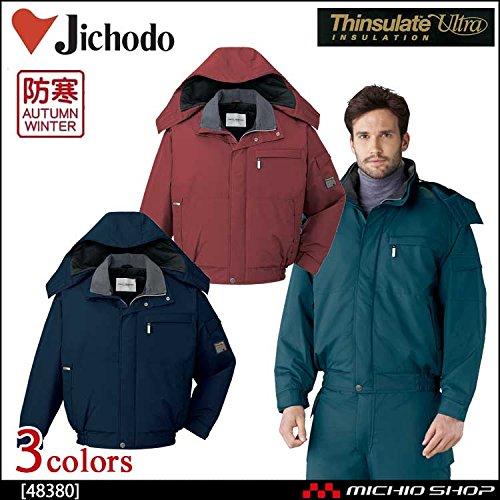 自重堂 作業服 エコ防水防寒ブルゾン 48380 B07BMKHGD1 L|011ネイビー 011ネイビー L