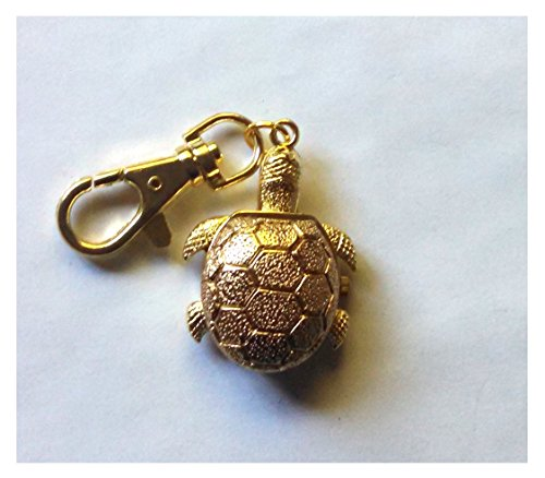 Watch Gold Turtle Key Chain