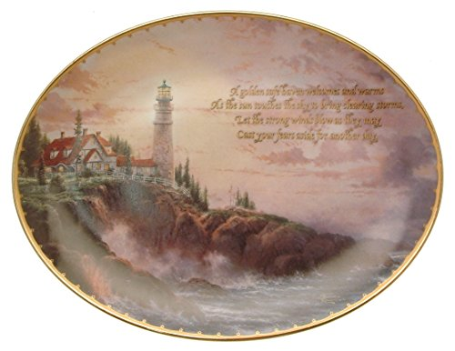 (Bradford Exchange Special Edition Thomas Kinkade's Guiding Lights Clearing Storms HJ195)