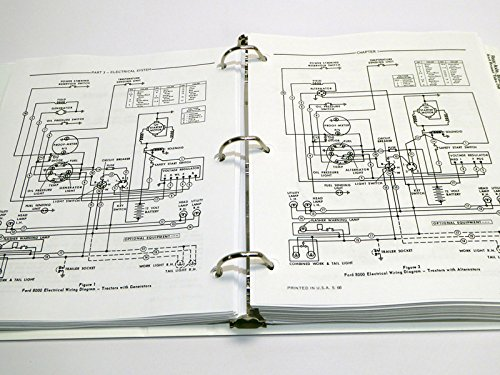 Ford 8000 Tractor Wiring Diagram