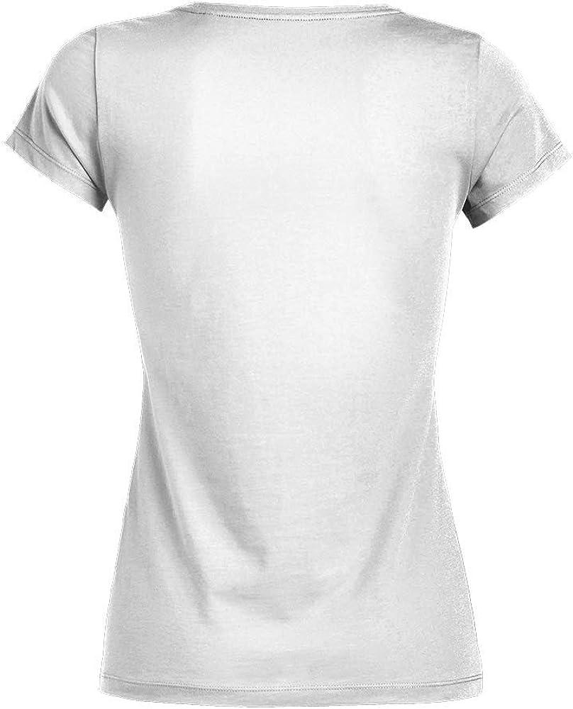 TEEZILY T-Shirt Femme Jpeux Pas Mon Chat Veut Pas