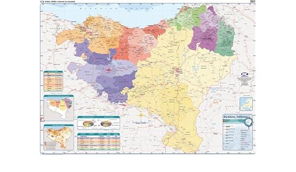 Euskal Herriko Mapa Politikoa.Euskal Herriko Mapa Fisiko Politikoa S A Erein