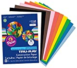 Pacon Tru-Ray Construction Paper is perfect for any arts and crafts project. This heavyweight, 100% vat-dyed sulphite paper is made with longer, stronger fibers for extra durability. This paper is tough enough to take scoring, folding and curling wit...