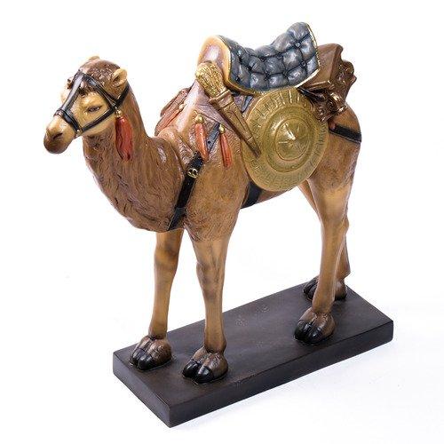 Bust Garden Statue - XoticBrands OSF8392RLC Camel Nativity 28 (St Louis) Garden Animal Statue