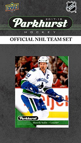 (Los Angeles Kings 2017 2018 Upper Deck PARKHURST Series Factory Sealed Team Set including Anze Kopitar, Jonathan Quick, Drew Doughty, Adrian Kempe Rookie Card Plus)