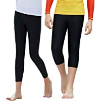 MNA Boy Girl Swim Shorts Rash Guards UPF 50+ Swimming Pants UV/SPF Sun Protective Breathable Quick Dry Swim Leggings…