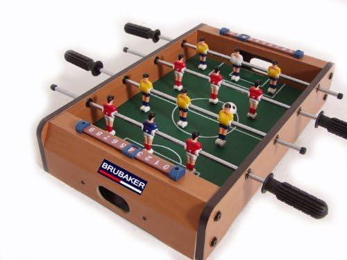 BRUBAKER - Futbolín (2109): Amazon.es: Juguetes y juegos