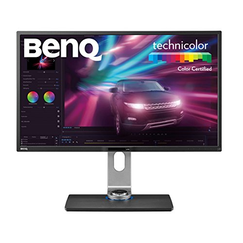 "BenQ 32"" IPS, Post-Production Monitor (PV3200PT), 3840x2160 UHD, 100% Rec. 709, Hardware Calibration, Brightness Uniformity , 60Hz refresh rate"