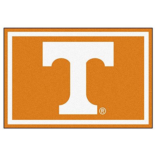 NCAA University of Tennessee Volunteers 5 x 8 Foot Plush Non-Skid Area Rug