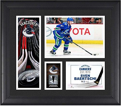 Sven Baertschi Vancouver Canucks Framed 15