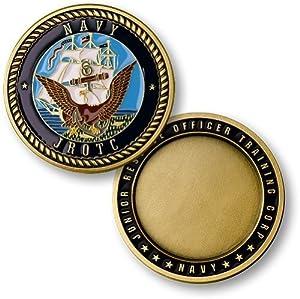 U.S. Navy JROTC Challenge Coin
