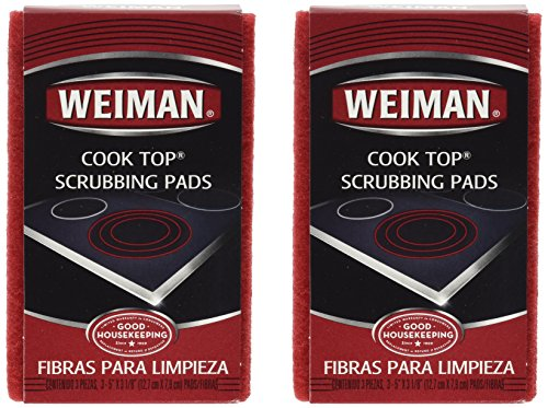 Weiman Cook Scrubbing Pads ct 2