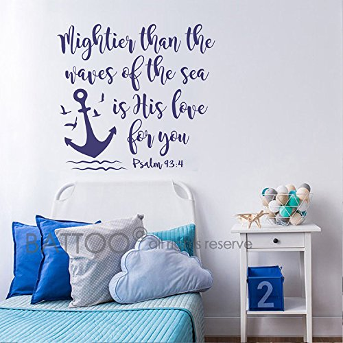 Top 10 Sea Bible Quote Wall Decor