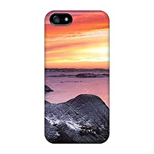 Iphone 5/5s Case, Premium Protective Case With Awesome Look - Last Snow In Sweeden