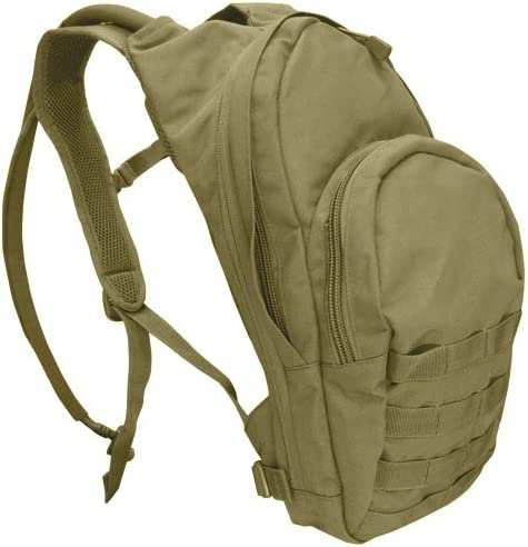 Condor Outdoor Condor 17in Hydration Pack Day Pack Color Tan
