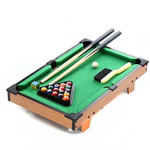 "Price comparison product image 30"" Tabletop Billards and Pool Table Game For all the family with Cues, Triangle and Chalk 1"