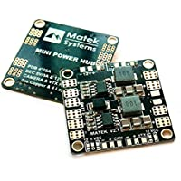 BangBang Matek Mini Power Hub Power Distribution Board With BEC 5V And 12V For FPV Multicopter