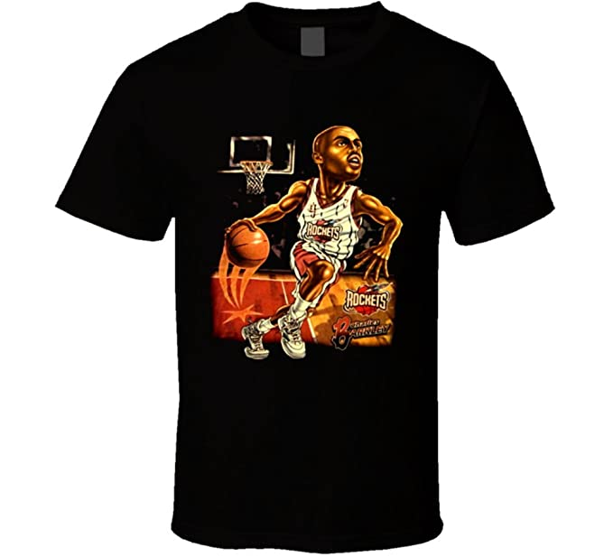 e9b2edb55f Camiseta Bandit Vintage Houston Rockets Charles Barkley Caricature Cartoon  T Shirt: Amazon.es: Ropa y accesorios