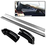 2Pcs Outer Rocker Panels + 2Pcs Cab Corners Protector Replacement For Chevy Silverado GMC Sierra 4 Door Extended Cab…