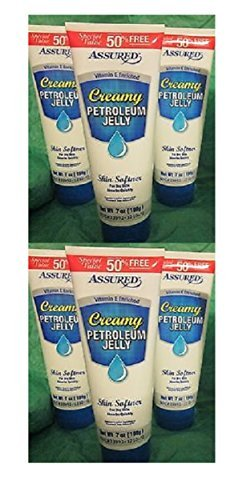Creamy Petroleum Jelly Tube 7 oz (Pack of 2) Queen Helene Mud Pack Masque, 8 Oz