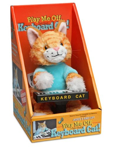 ThinkGeek Keyboard Cat Animatronic Plush