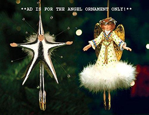 Patience Brewster Krinkles Heavenly Angel Christmas Ornament
