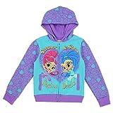 Shimmer & Shine Toddler Little Girls ''Sisters Devine'' Zip Hoodle Sweater Jacket (3T, Purple)