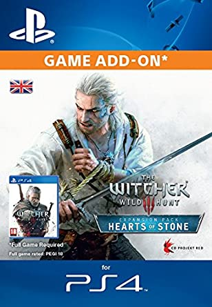 The Witcher 3: Wild Hunt - Hearts of Stone [PS4 PSN Code