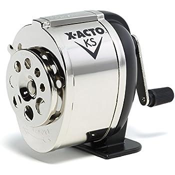X-ACTO KS Manual Pencil Sharpener, Metal Finish