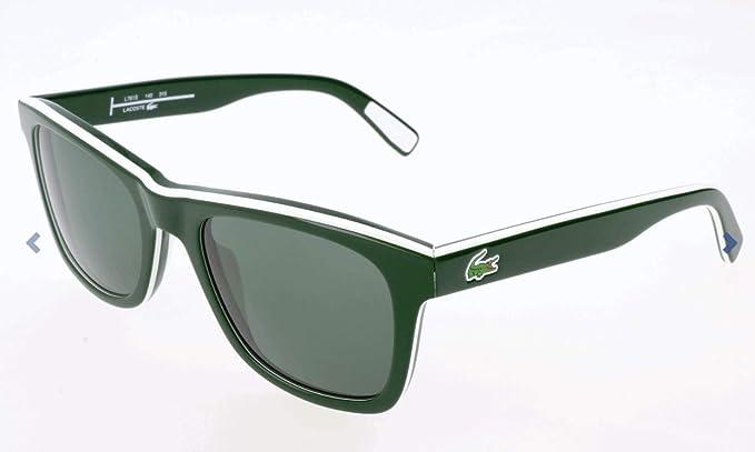 Lacoste L781S 315 52 Gafas de Sol, White/Green, Unisex-niños ...