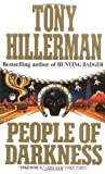 Front cover for the book People of Darkness by Tony Hillerman