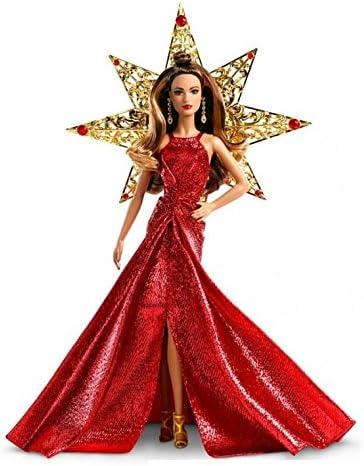Barbie 2017 Holiday Teresa Brunette Doll Barbie Collector Star Mattel DYX41