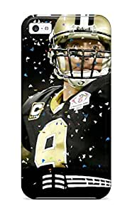 Defender Case For Iphone 5c, Drew Brees Pattern 2481484K43548431