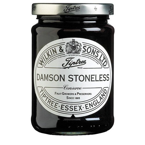 Damson Preserve - (4 PACK) - Tiptree - Damson Stoneless Conserve | 340g | 4 PACK BUNDLE