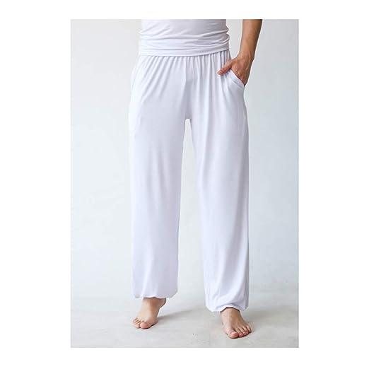 AXJa Pantalones de Tai Chi para hombres Pantalones de yoga ...