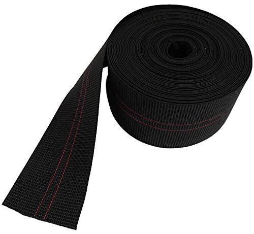 Commercial Grade Furniture - True Choice DIY Chair Webbing Elastic Latex 3 inch wide for repair or replacement (20 ft)