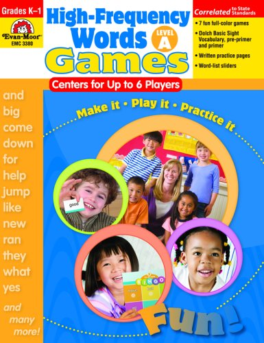 High-Frequency Words: Center Games, Level A