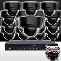 Ninja 4 Megapixel IP Mini Dome Camera 16 CH Kit