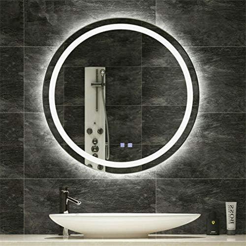 LUVODI Espejo Baño LED Redondo Espejo de Baño Antivaho con 3 Modos ...
