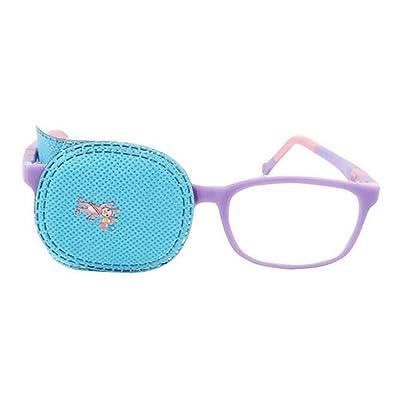 6 parches de ojo para niños para tratar ambliopía Strabismus Lazy Eye Patch Visual Acuity Recovery Regular Tamaño para niños niñas niños azul: Salud y cuidado personal
