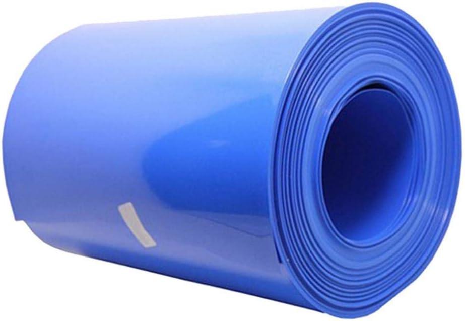 gazechimp Surtido De Aislamiento El/éctrico Kit De Tubo Termorretr/áctil 8 Tama/ños 200x150MM Color Azul